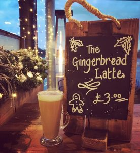 Berts Pizzeria gingerbread latte